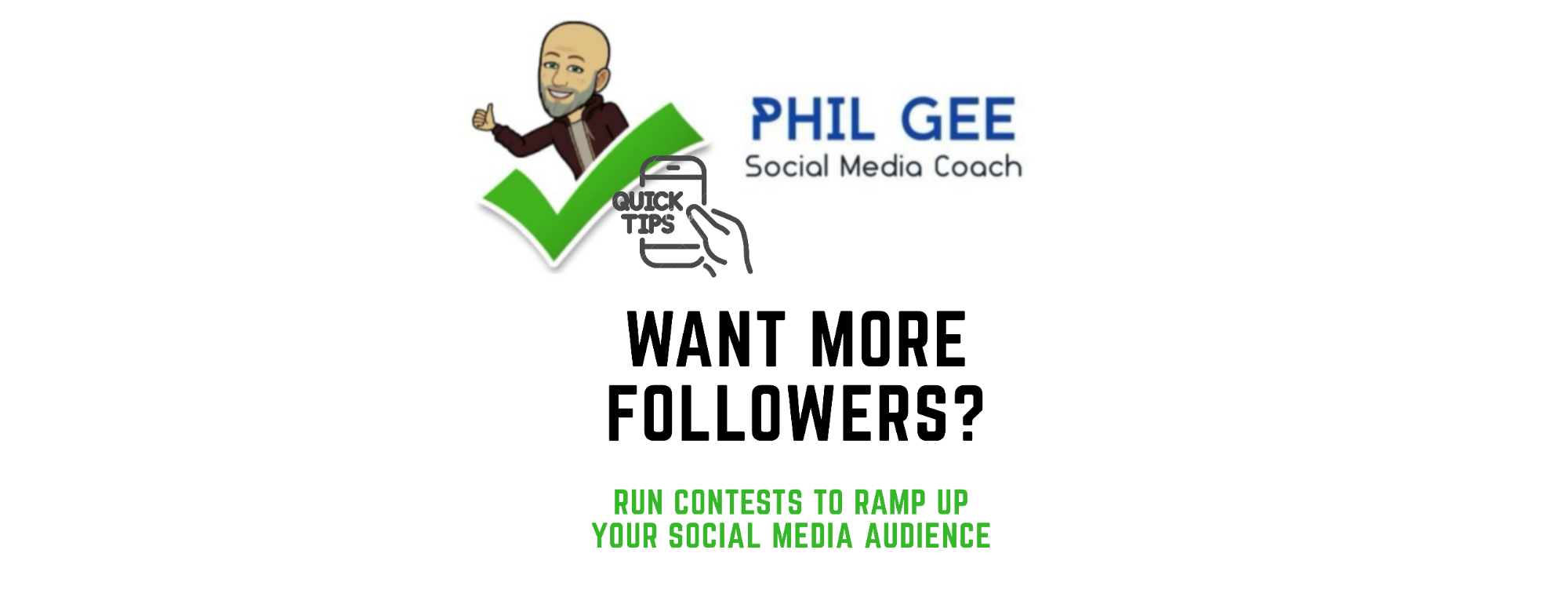A quick way to build up your social media audience