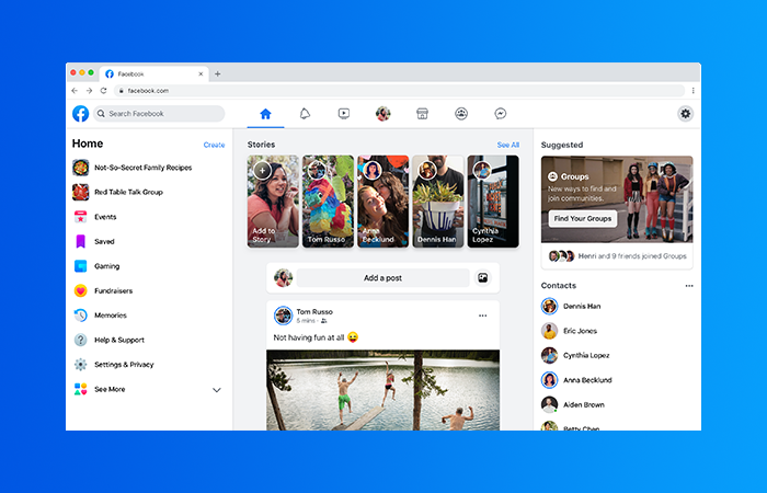 Facebook Is Getting a Major Redesign