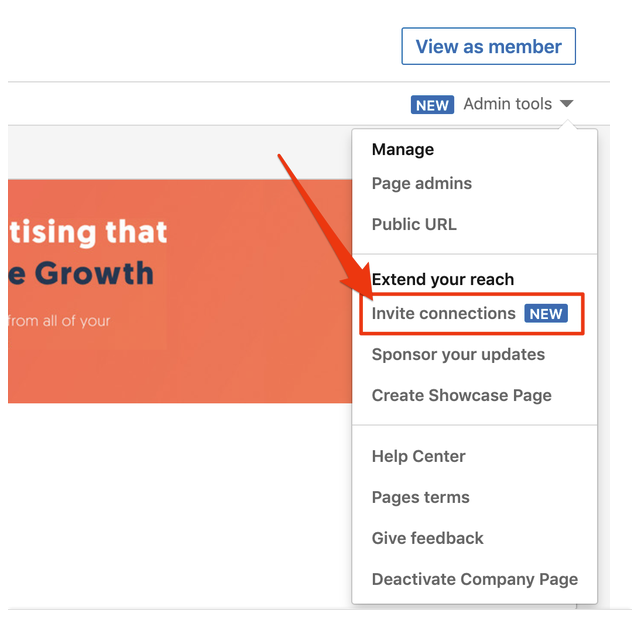 Build up your LinkedIn page followers