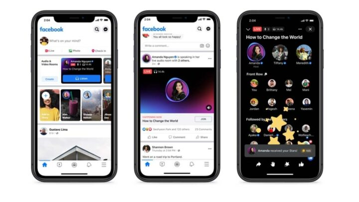 Facebook Officially Launches Its Live Audio Rooms Feature